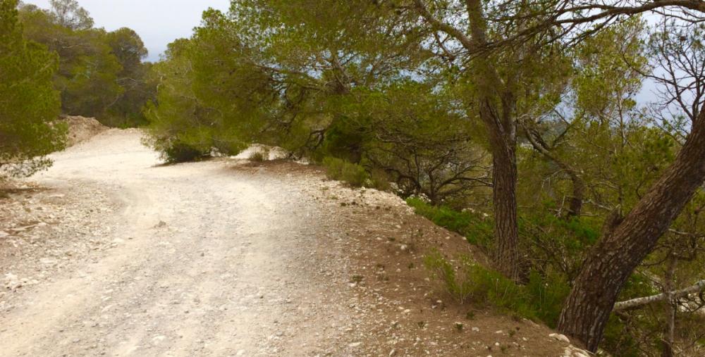 The Road to Cap Llentrisca