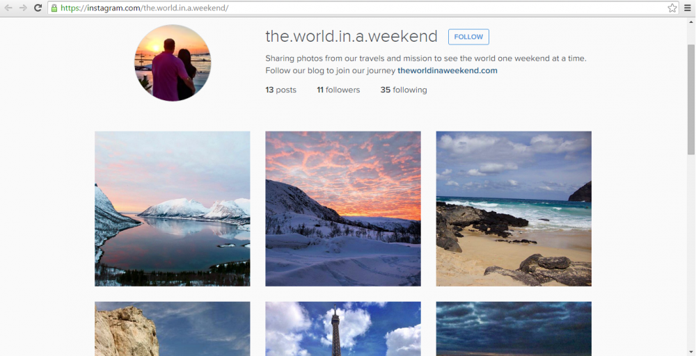 Instagram: http://instagram.com/the.world.in.a.weekend