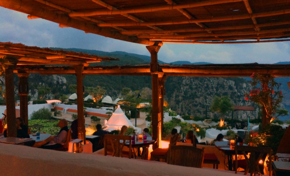 Dining in the Eden Restaurant
