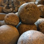 Canon Balls in The Arms Hall