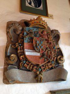 Family Crest of Philippe-William of Nassau, Count of Vianden