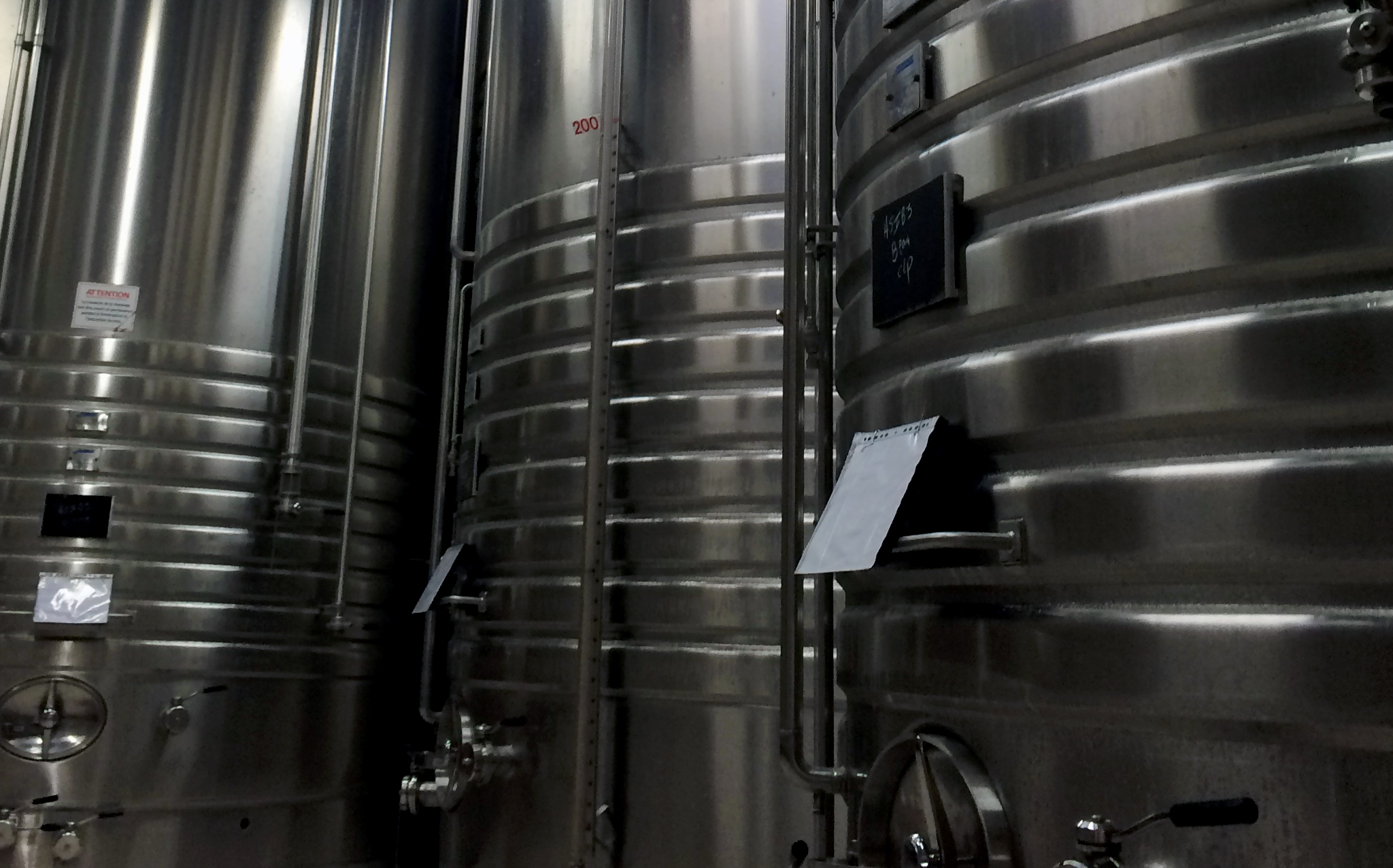 De Castellane Stainless Steel Grape Juice Vats