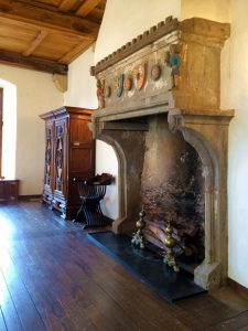 Fireplace of The Banqueting Hall