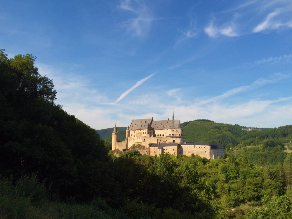 Vianden from the road