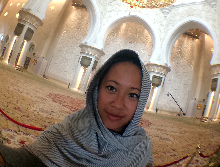 Inside the Sheikh Zayed Grand Mosque, Abu Dhabi