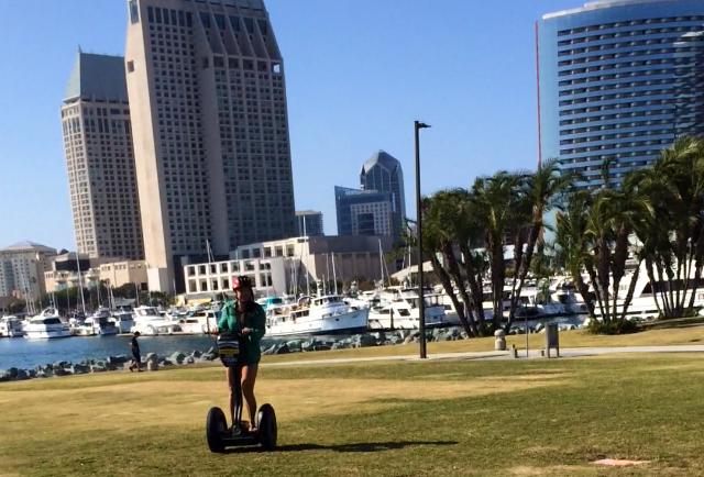 Whizzing round San Diego