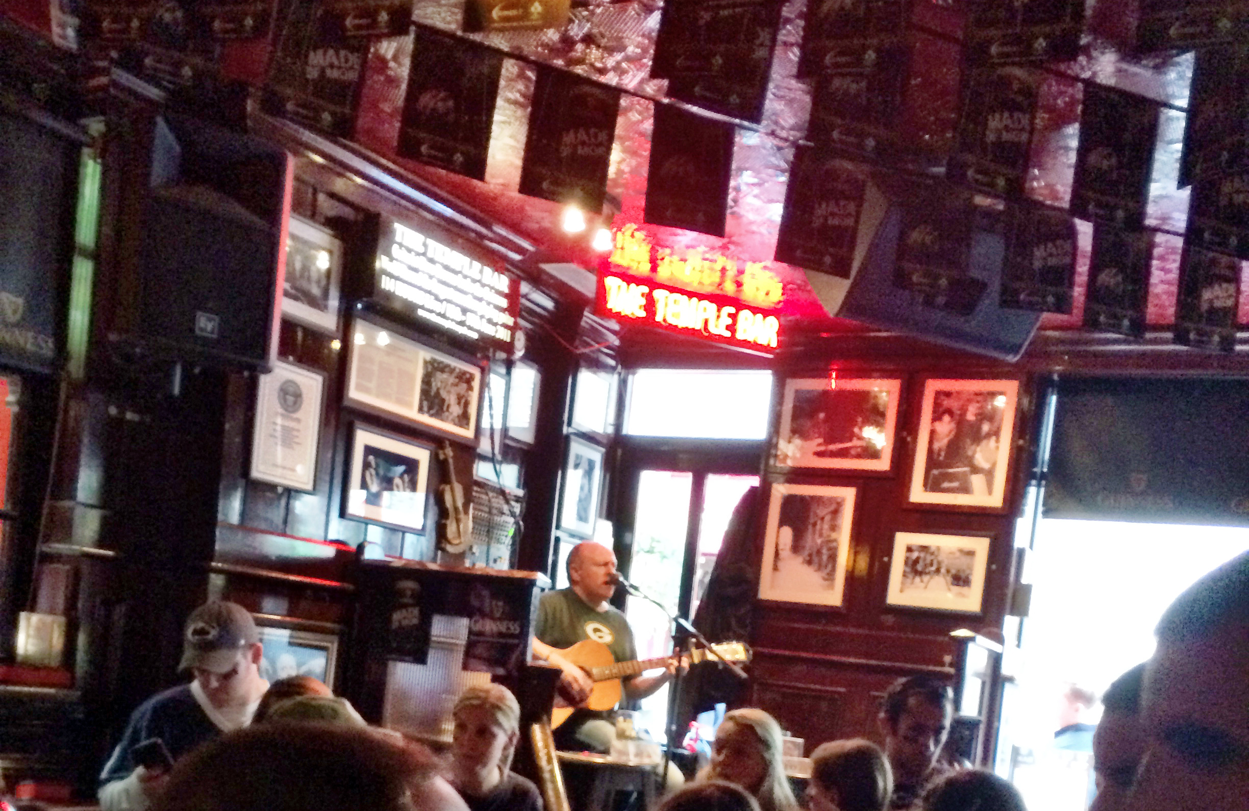 Live Music in Temple Bar