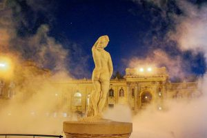 As the temperature dropped to 12 degrees in Budapest overhellip