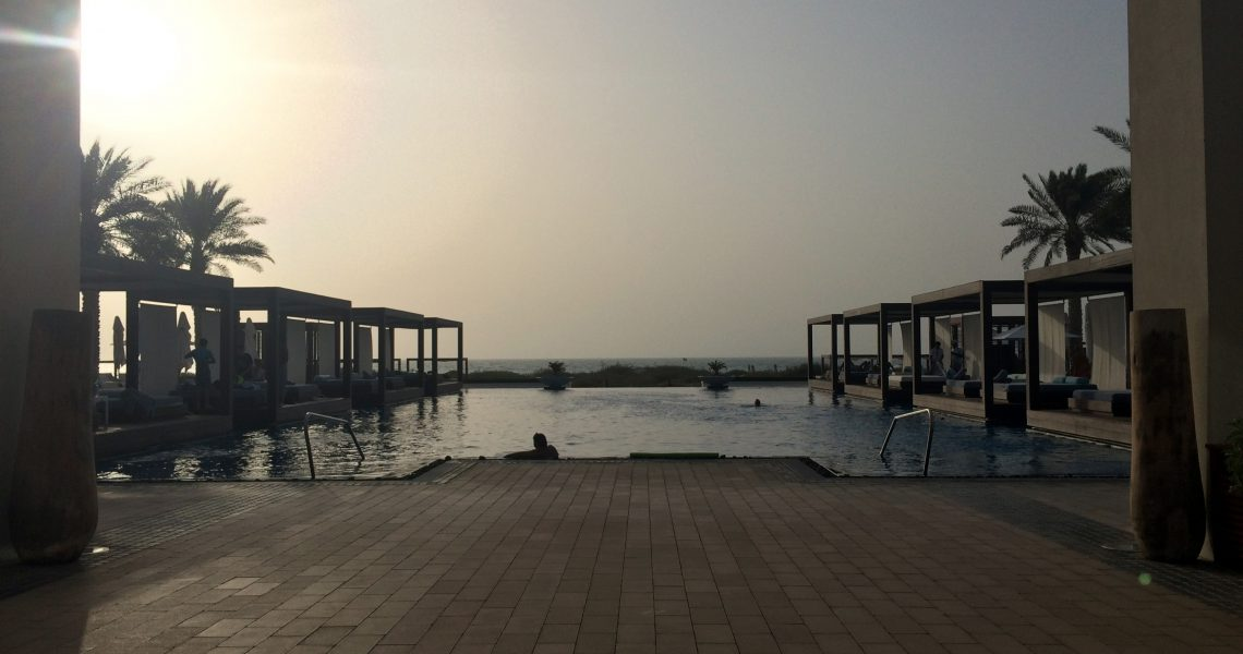 Saadiyat Beach Club Infinity Pool