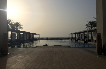 Saadiyat Beach Club Infinity Pool