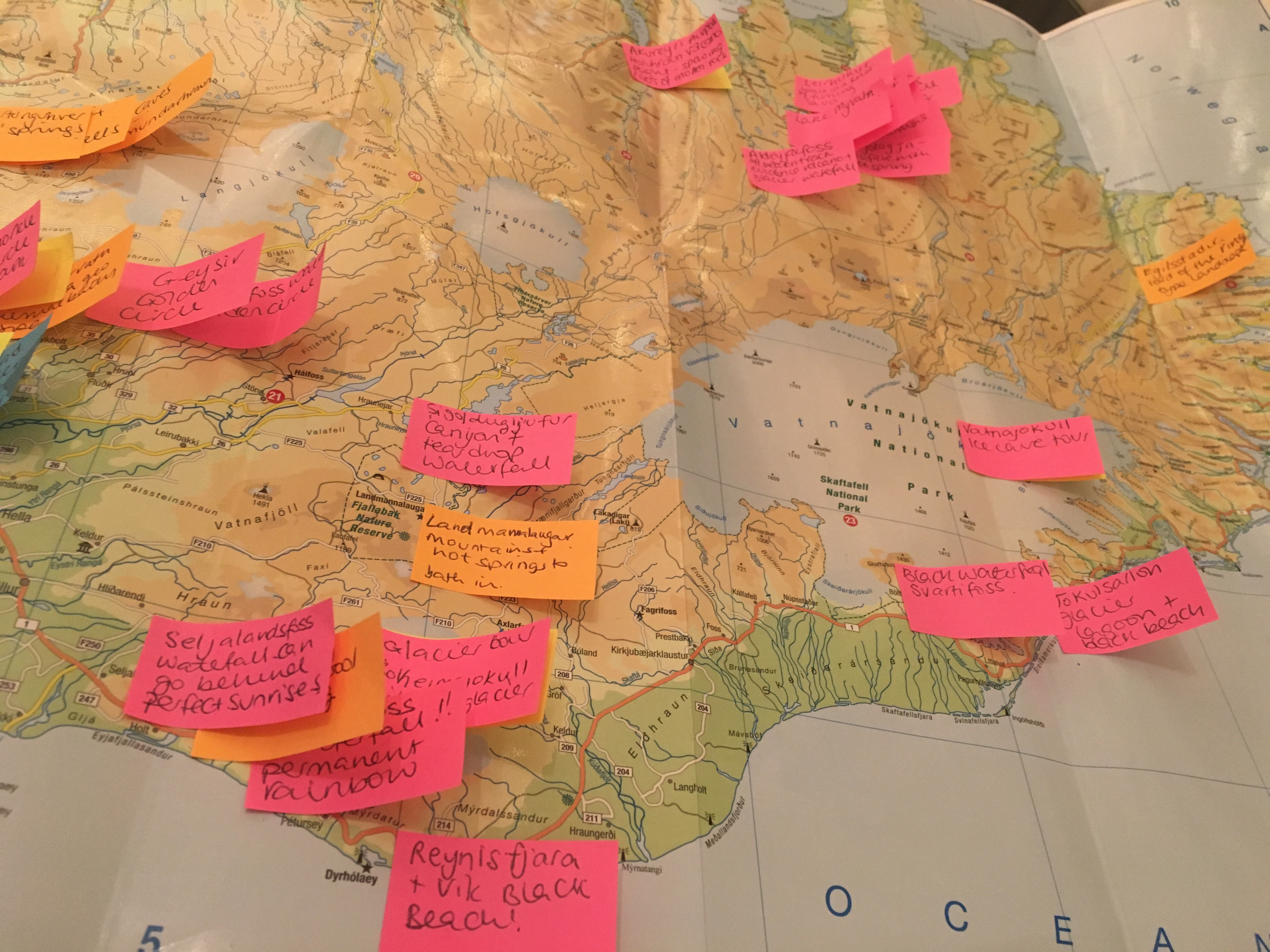 Planning our Iceland Itinerary