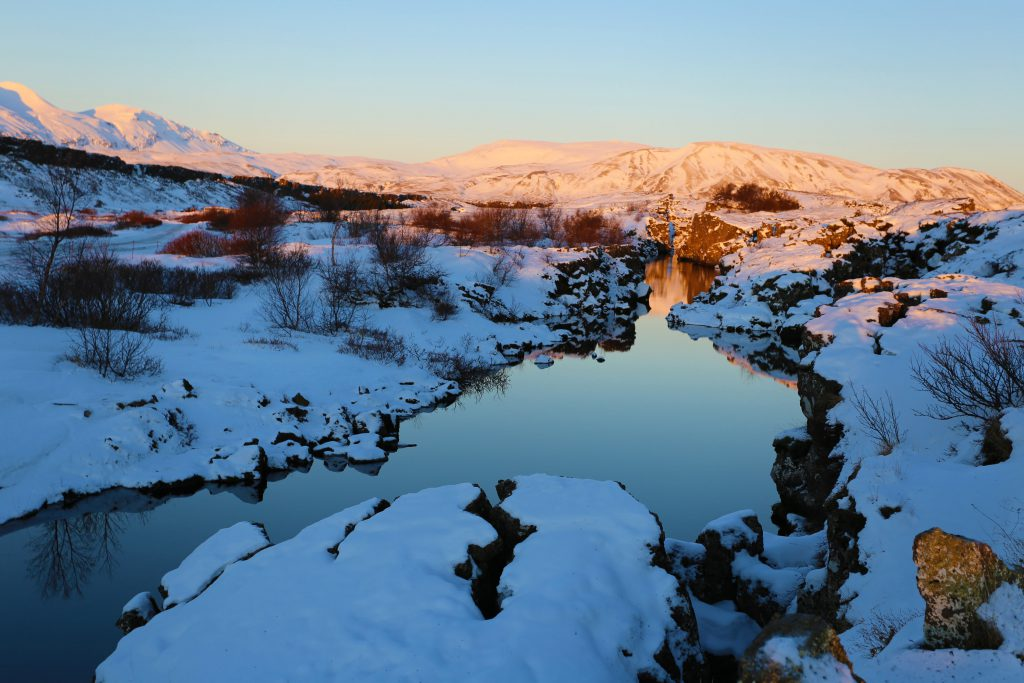 The Silver waters of Silfra