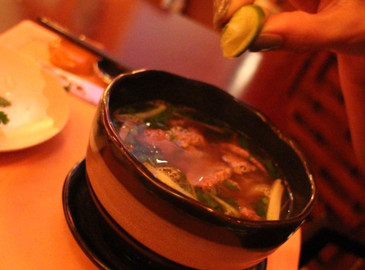 Ph Bò Viêt Nam soup with Angus beef