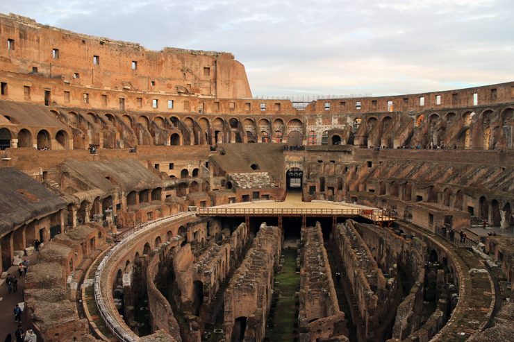 The Colosseum in all it's glory