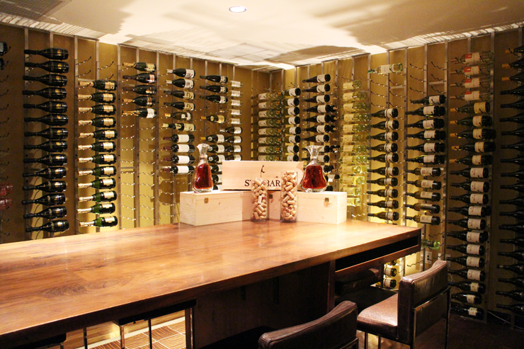 The Conrad Hotel Miami Wine Room
