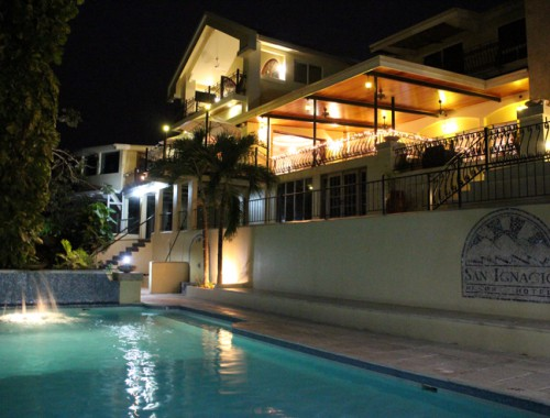 San Ignacio Resort Hotel by Night