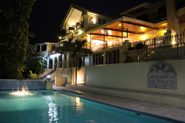 San Ignacio Resort Hotel by Night