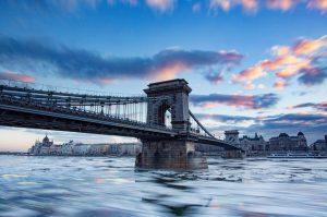 Sleepy Budapest waking up to the ice on the Danubehellip
