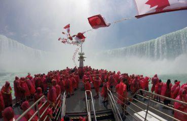 Niagara Falls, Into the Mist, Hornblower cruises, boat ride