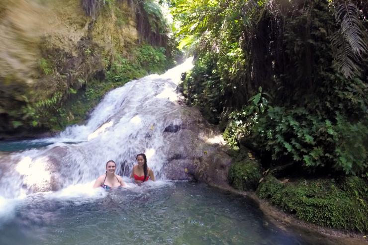 Island Gully Falls, Blue Hole, Jamaica, Ocho Rios