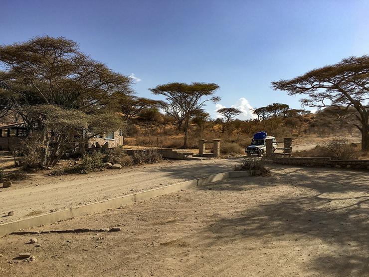 Gate to Ngorongoro, Serengeti, Tanzania,