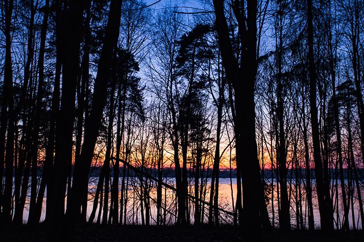 Kaunas Lagoon Monte Pacis at Pažaislis Monastery Kaunas Lithuania