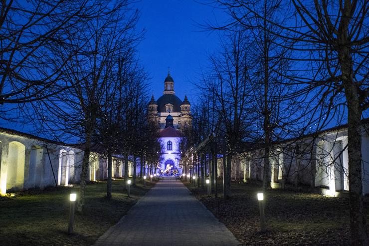 Monte Pacis at Pažaislis Monastery Kaunas Lithuania
