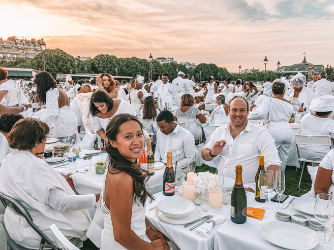 30th Anniversary of Le Dîner en Blanc de Paris
