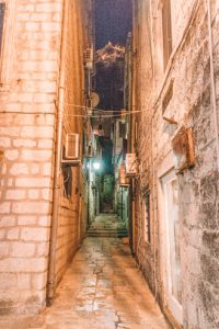 Kotor Montenegro by Night