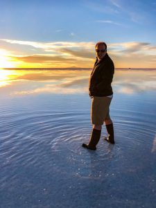 Stargazing on the Salar de Uyuni
