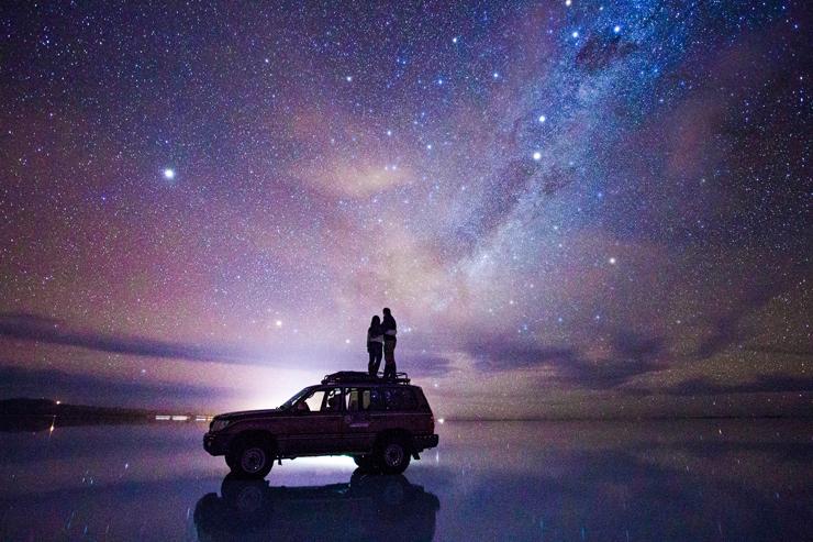 Stargazing on the Salar de Uyuni